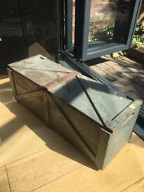 Rustic old wooden crate - decorative and good for storage