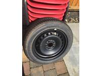 FORD FOCUS WHEEL AND MICHILIN TYRE 205x55x16 like new £40