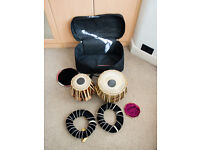 Pair of tablas in perfect condition - whole set
