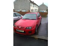 mg zr, 12 months mot, 1 owner, full history
