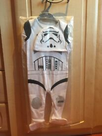 9-12 months stormtropper baby outfit fancy dress