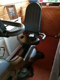 Power sport Recumbent exercise bike