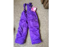 Girls weather proof 32 degree (age 7/8)