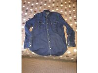 GENTS DENIM LEVI SHIRT