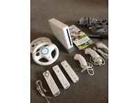 Nintendo Wii Console with Mario Kart