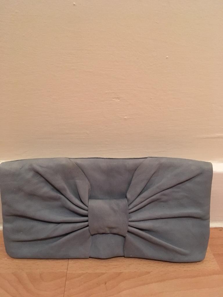 Small Blue Clutch Bag