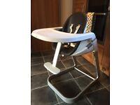 Chicco I-sit high chair (converts like stokke)