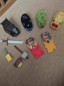 Zhu zhu battle hamsters and accessories