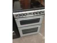 Stove homes Silver Gas cooker 60cm...cheap free delivery