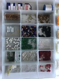 Needlework/jewellery beads