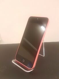 iPhone 5c - pink 8gb - Warranty Included