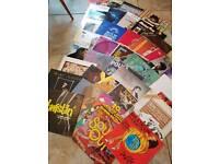 Job lot of Vinyl Lps Records x 34