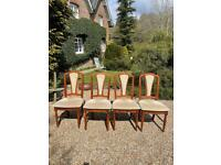 Set of 4 top quality dining chairs