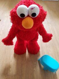 Tickle Me Elmo Talking Toy