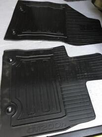 Lexus CT200h front car mats