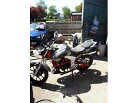 Lexmoto Venom 2012 1 lady owner only done 313 miles