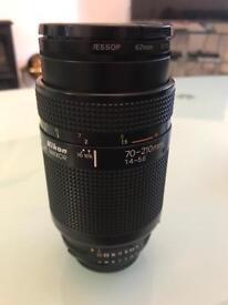 Nikon SLR 70-210mm lens