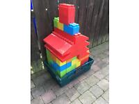 Giant outdoor building blocks for sale.