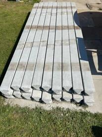 New Concrete posts