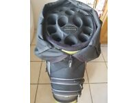 Trinders Golf Bag with Click Lock to prevent golf club damage. Good condition.