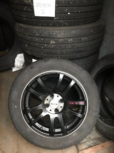 RTX rims with Firestone tires
