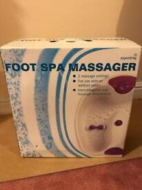 New foot spa/massager