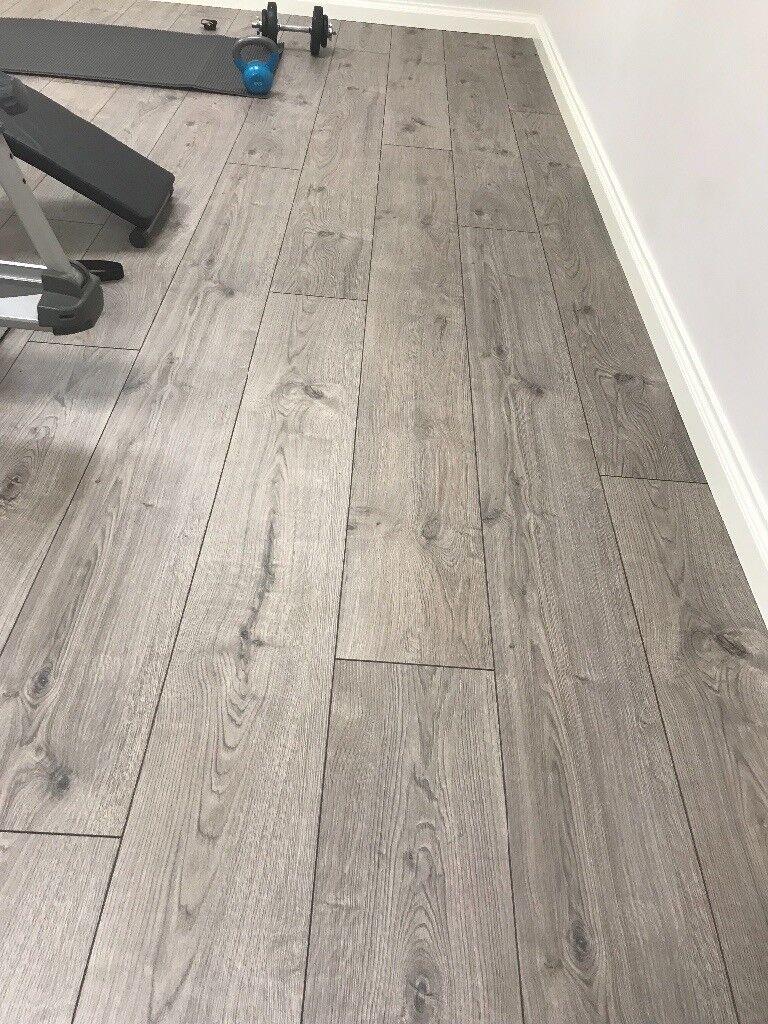 Laminate Flooring Haro Tritty 100 Oak Portland Grey Gran Via 4v Authentic