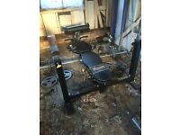 Olympic Weights and bench