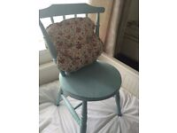 Vintage style wooden chair