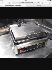 Buffalo commercial grill/pannini machine. Can deliver