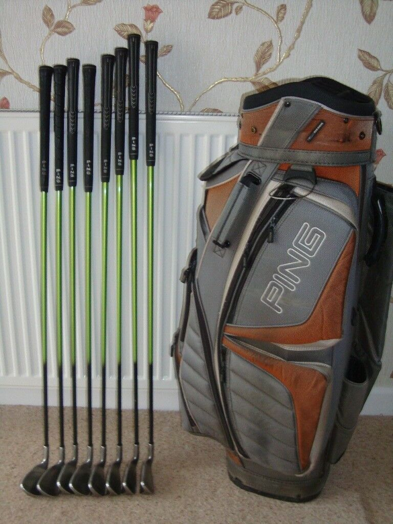 Ping Rapture Golf Clubs