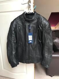 BRAND NEW Triumph H2 Protect Leather Jacket