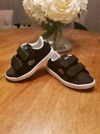 Toddler Lacoste trainers