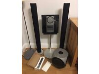 Bang & Olufsen sound system, including BeoSound 3000, BeoLab 3000 speaker and BeoLab 2 Subwoofer