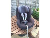 Maxi Cosi - Pearl - Toddler Car Seat - Black / Grey - Located in Thatcham RG19 4AD