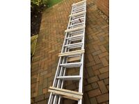 TB Davies triple extension ladder - 3.5 metres brand new - wrong size bought