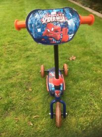 Spider-Man children's scooter