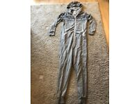 Grey Onesie with diamond pattern £10.00 ONO Still Available
