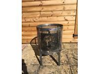 Handmade firepit/wood burner