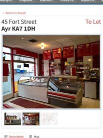 Cafe and Ice Cream Parlour for sale
