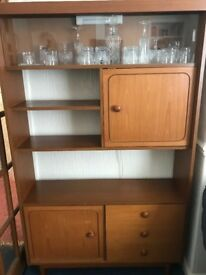 VINTAGE WALL UNIT REDUCED TO SELL