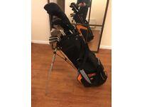 Complete Set Wilson Golf Clubs - Bag Included - Left Handed