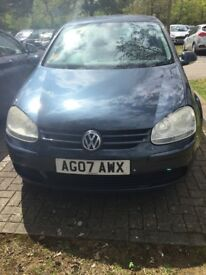 2007 Volkswagen Golf 1.6TDI With 105k Miles Excellent Condition £2200 ono