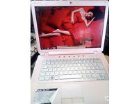 Sony core2duo laptop windows7,wifi,dvd-rw ready to use,office