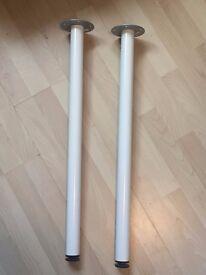 2 Adjustable Desk Legs