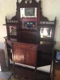 Victorian what not dresser