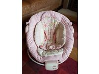 Brights Stars Comfort & Harmony Baby Vibrating and Musical Cradling Bouncer