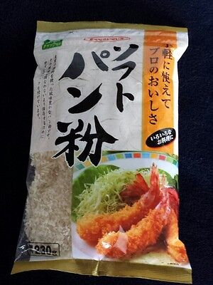 Soft Panko Soft Japanese Bread crumbs for Tonkatsu Japanese pork dish or tempura