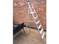 Set Of 6ft Tall Aluminium Step Ladders
