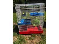 Large hamster/gerbil/rat cage